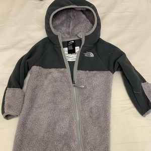 The North Face coverall jacket baby size 12-18 mon